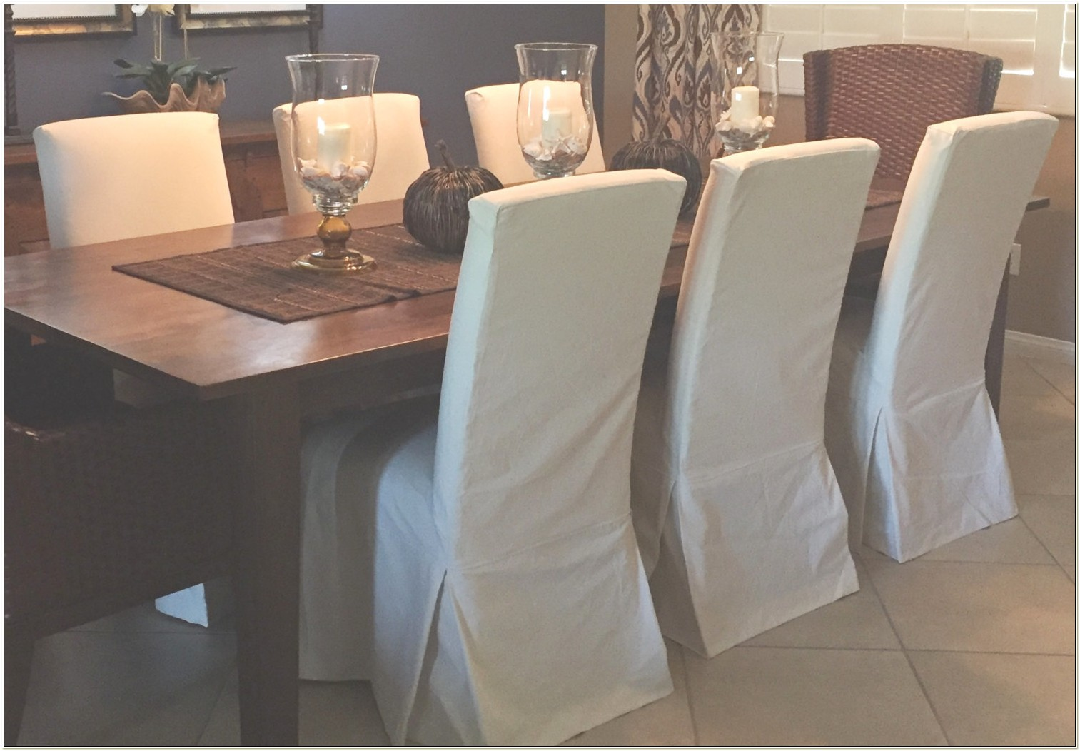 Custom Made Parson Chair Slipcovers