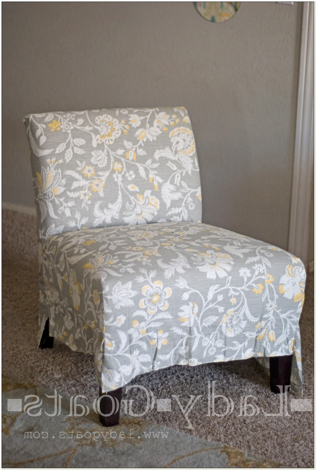 Custom Slipcovers For Slipper Chairs