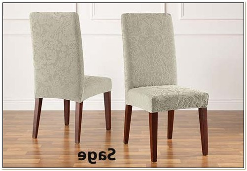 Damask Dining Chair Covers