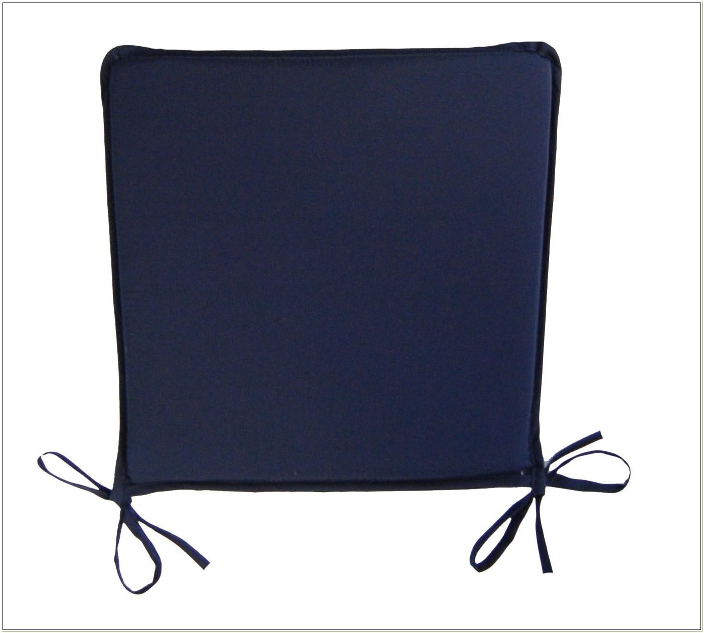 Dark Blue Dining Chair Cushions