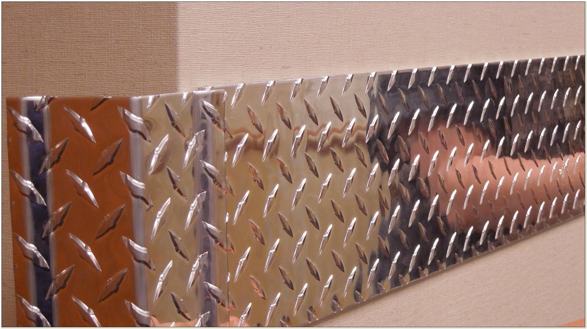 Diamond Plate Chair Rail
