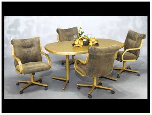 Dinette Sets With Swivel Chairs