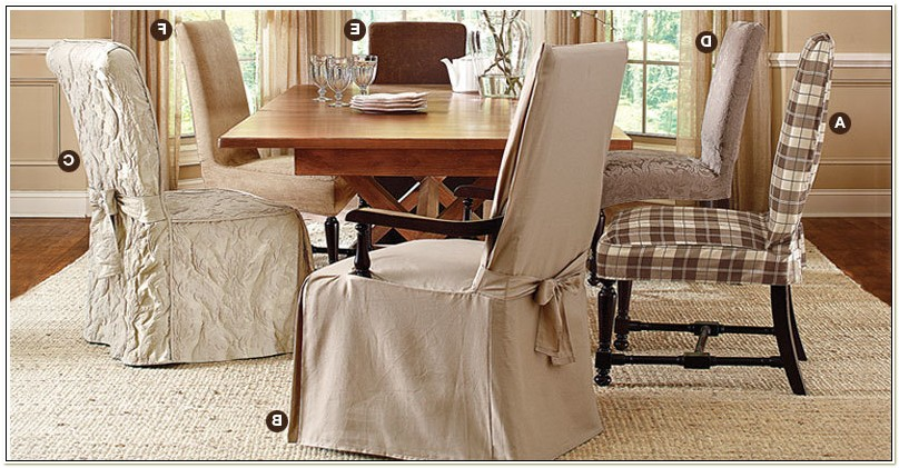 Dining Chair Slipcovers With Arms