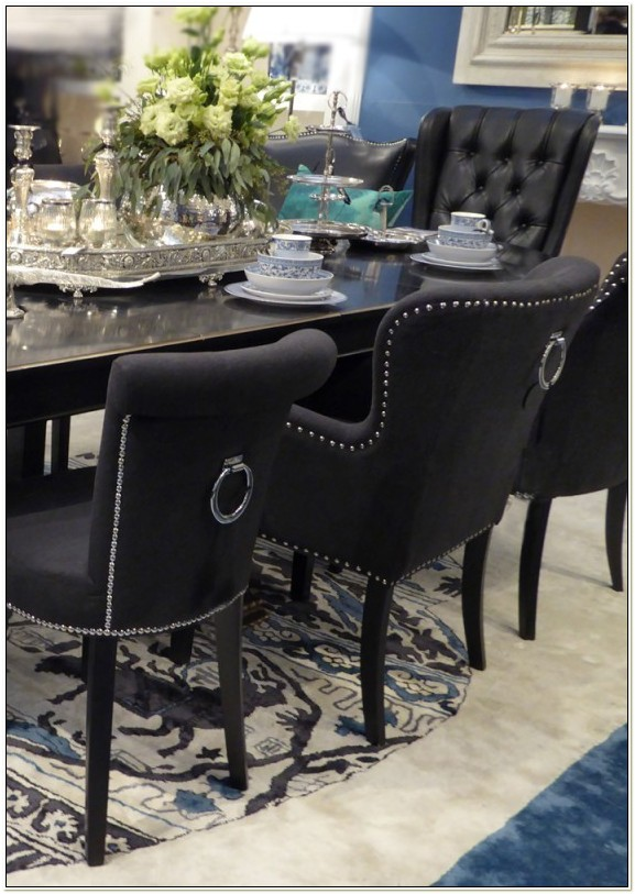 Dining Chairs With Ring Pulls On Back