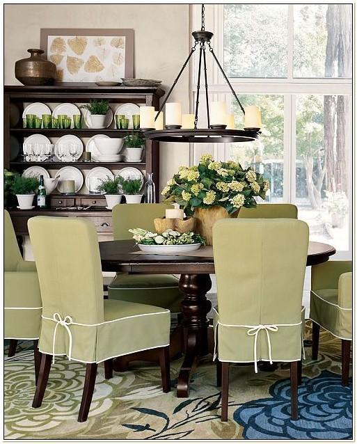 Dining Room Chair Slipcover Ideas