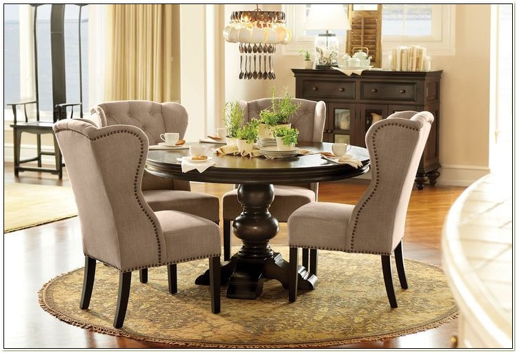 Dining Room Sets With Wingback Chairs