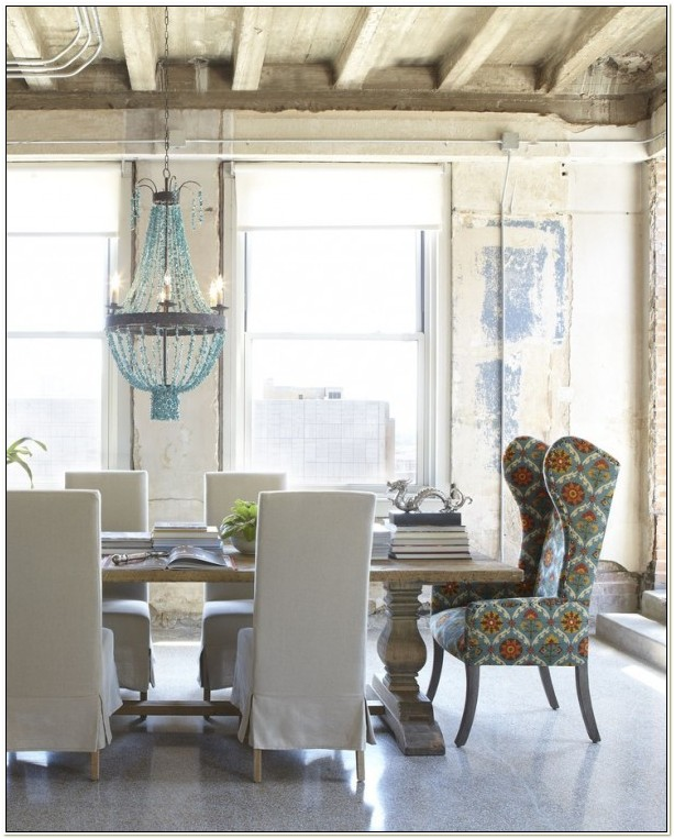 Dining Room Table With Wingback Chairs