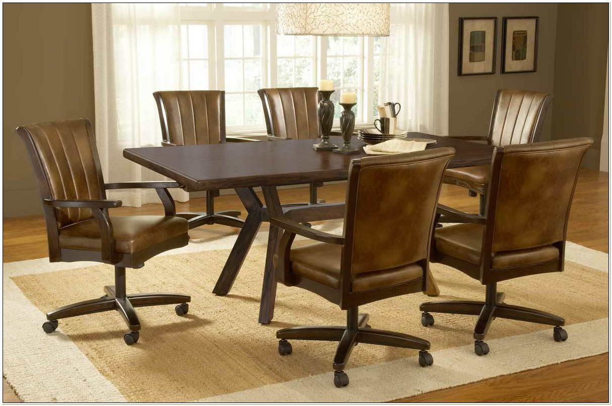 Dining Sets With Roller Chairs