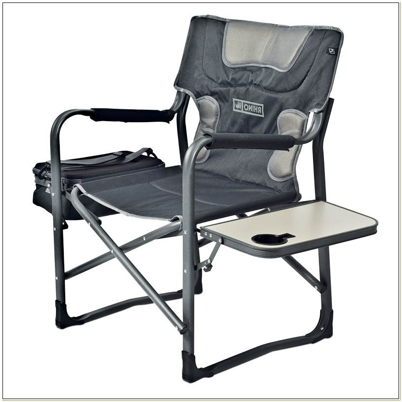 Directors Camping Chair With Cooler