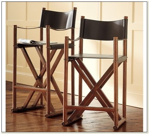 Directors Chair Bar Stools