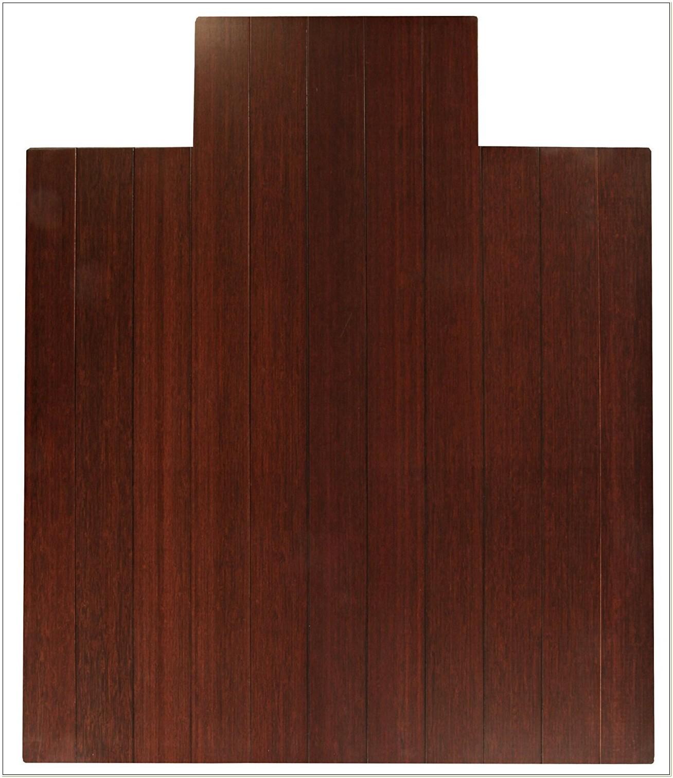 Divoga Bamboo Chair Mat Cherry