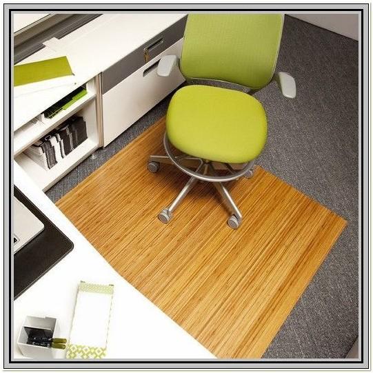 Divoga Bamboo Chair Mat Office Max
