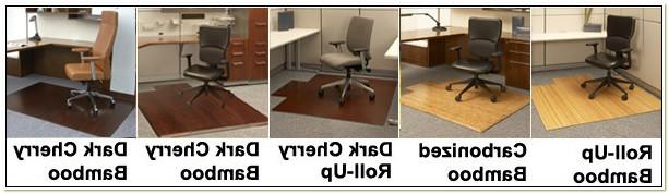 Divoga Bamboo Chair Mat