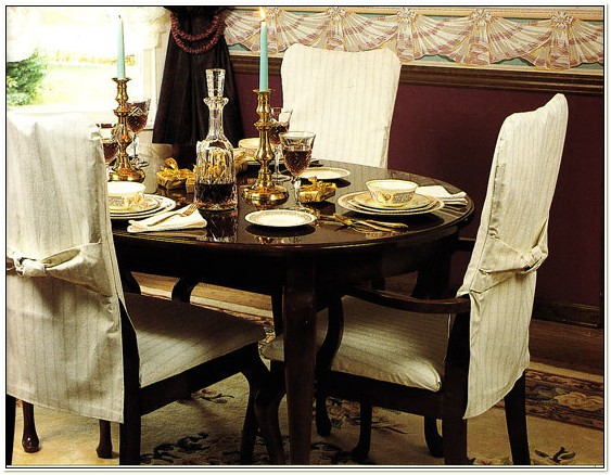Diy Dining Room Chair Covers