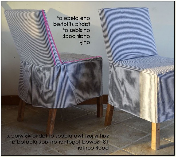 Diy Easy Dining Room Chair Covers