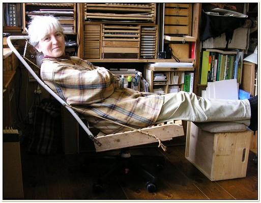 Diy Ergonomic Reclining Desk Chair