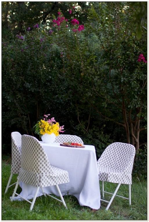 Diy Slipcover For Folding Chair