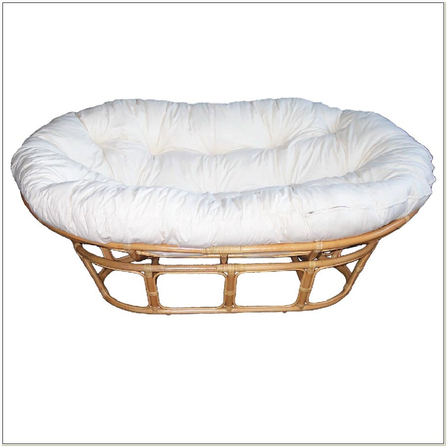 Double Papasan Chair Frame Natural