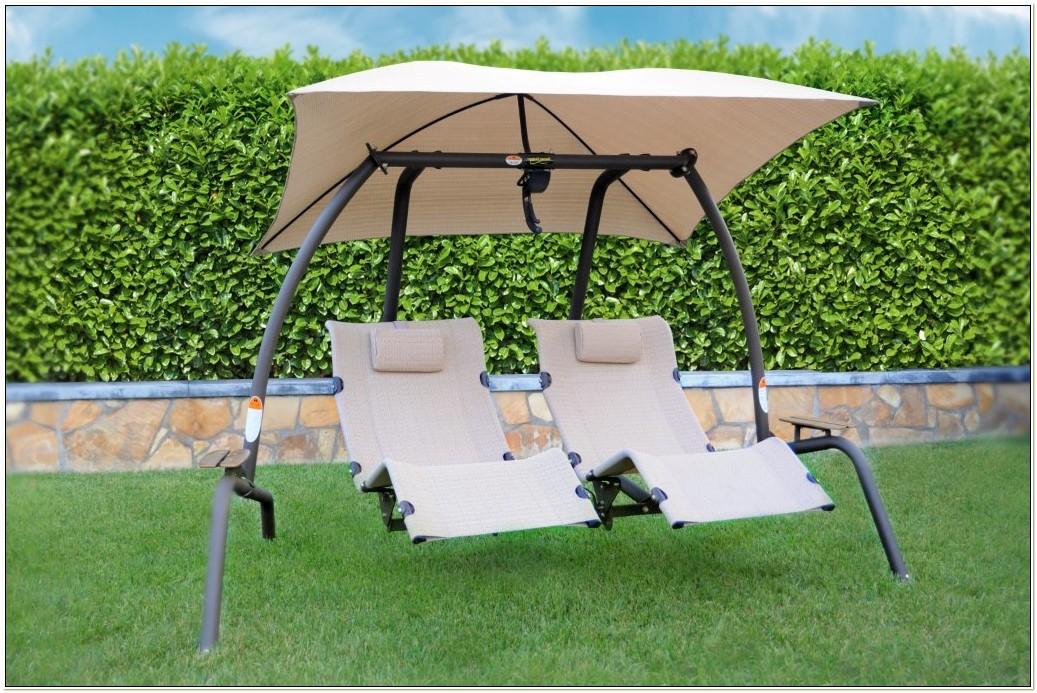 Double Zero Gravity Swing Chair