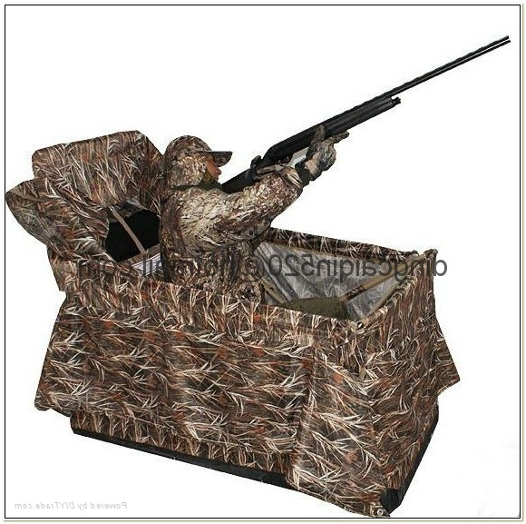 Duck Hunting Chair Blind
