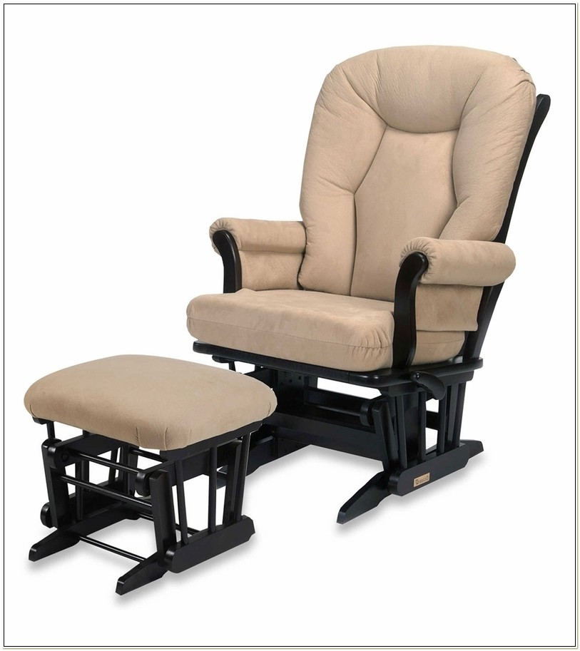 Dutailier Chair And Ottoman