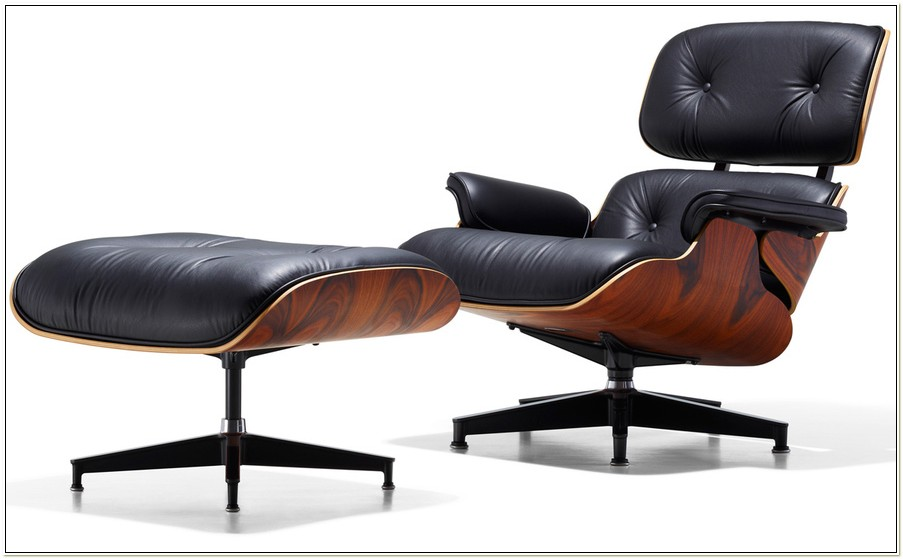 Eames 670 Lounge Chair Ottoman