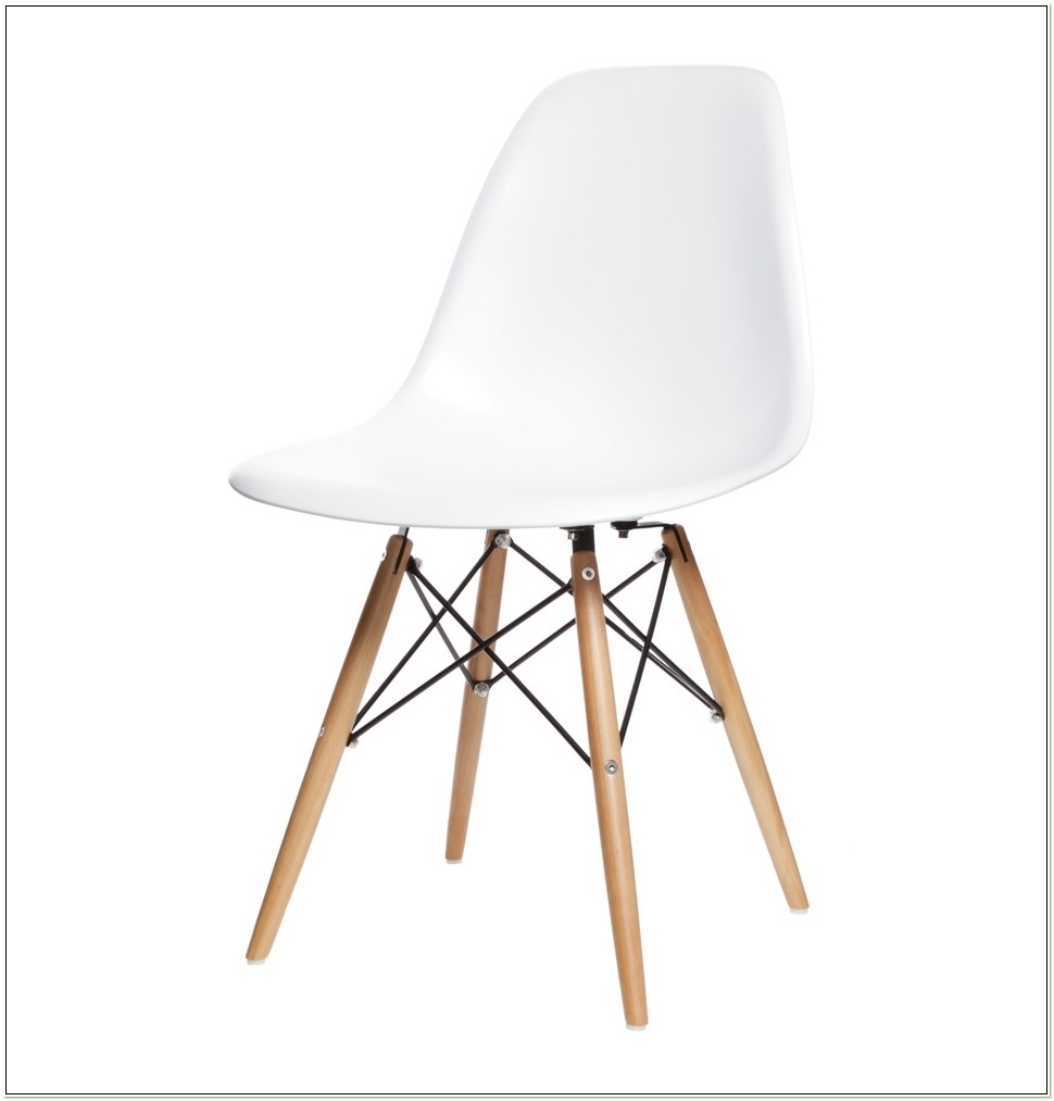 Eames Dsw Side Chair White