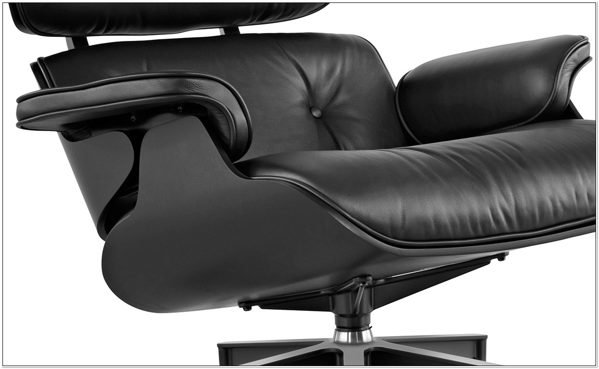 Eames Lounge Chair And Ottoman Ebony