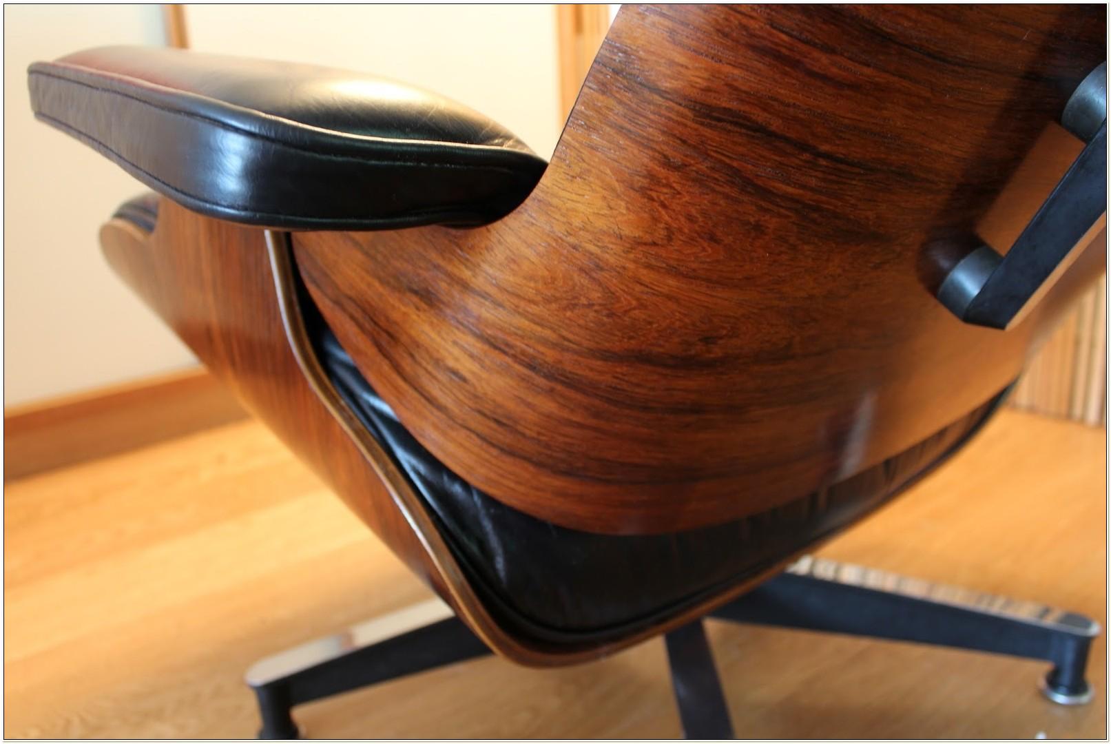 Eames Lounge Chair Rosewood Veneer