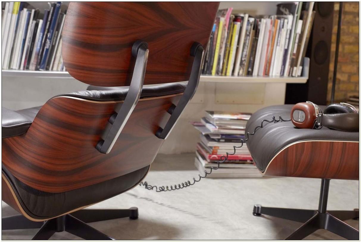 Eames Lounge Chair Santos Palisander