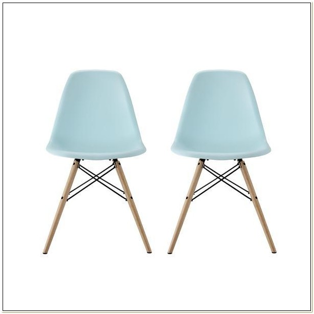 Eames Molded Plastic Chair Replica