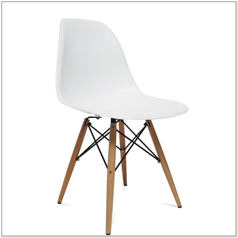 Eames Molded Plastic Side Chair Replica
