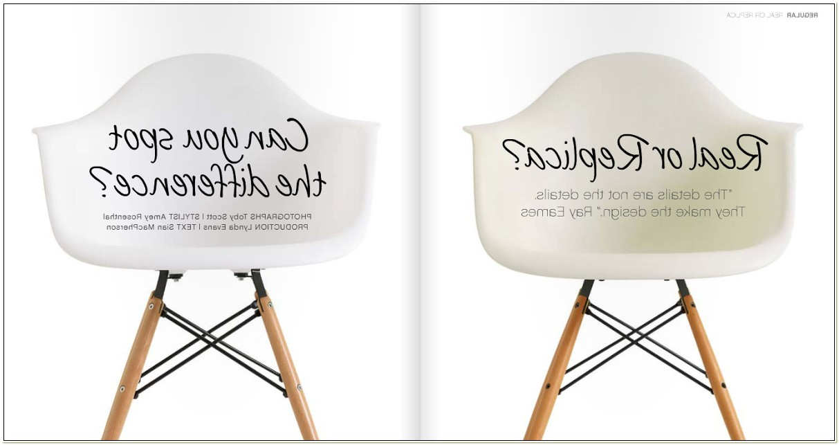 Eames Shell Chair Reproduction