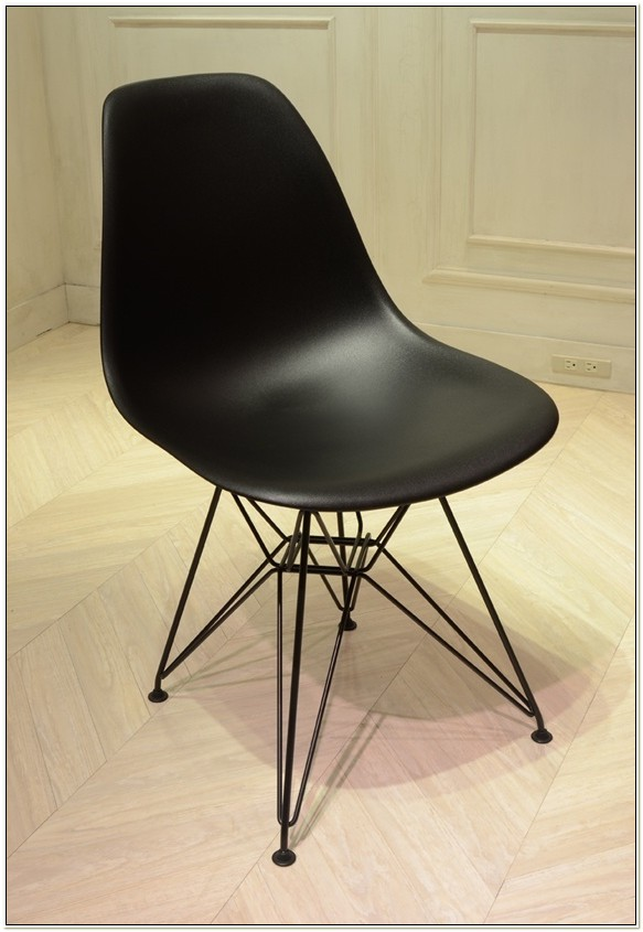 Eames Shell Side Chair Dsr Black Base