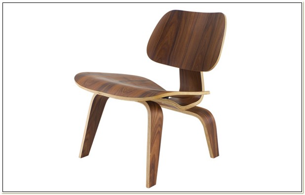 Eames Style Plywood Lounge Chair