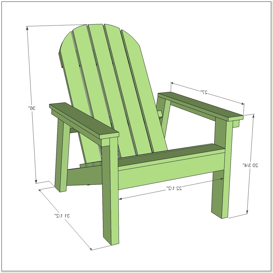 Easy Plans For Adirondack Chairs