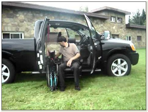 Easy Reach Power Lift Chair For Trucks