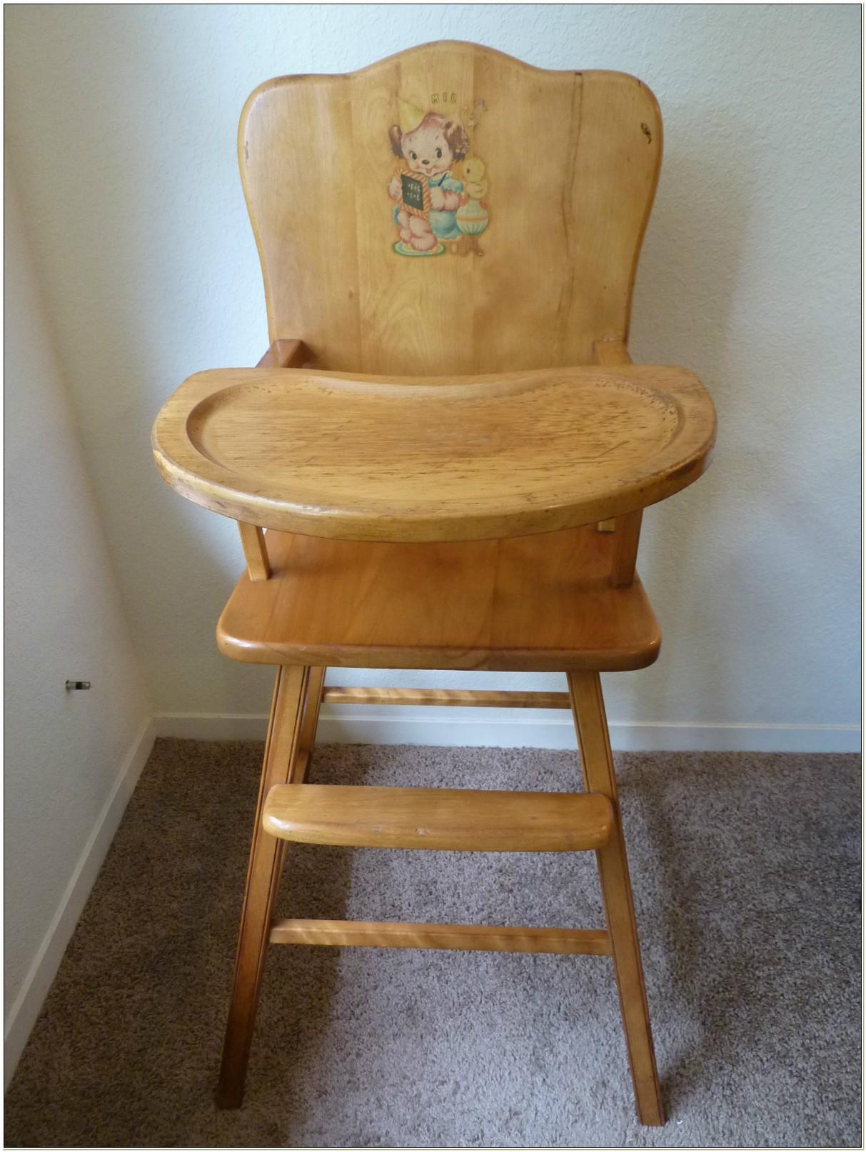Ebay Antique Baby High Chair
