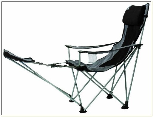 Eddie Bauer Camping Chair With Footrest
