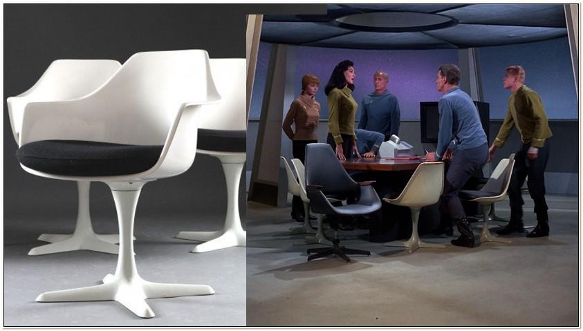 Eero Saarinen Tulip Chair Star Trek