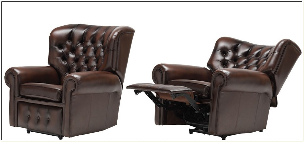 Electric Leather Recliner Chair Uk