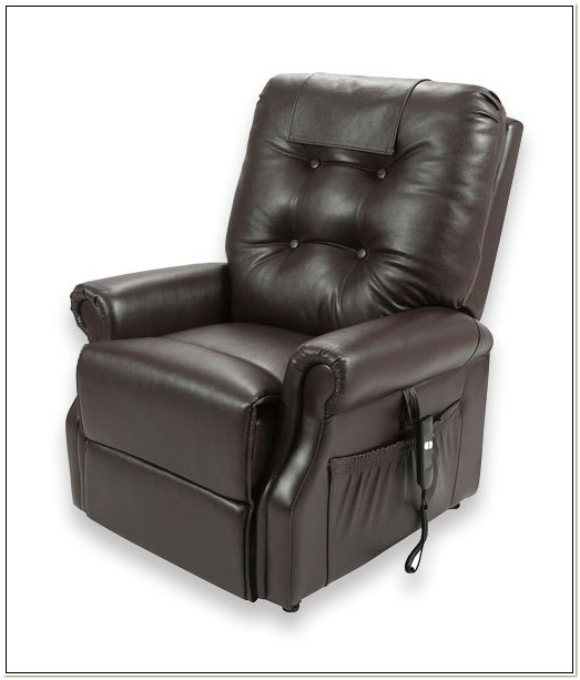 Electric Recliner Lift Chair Leather