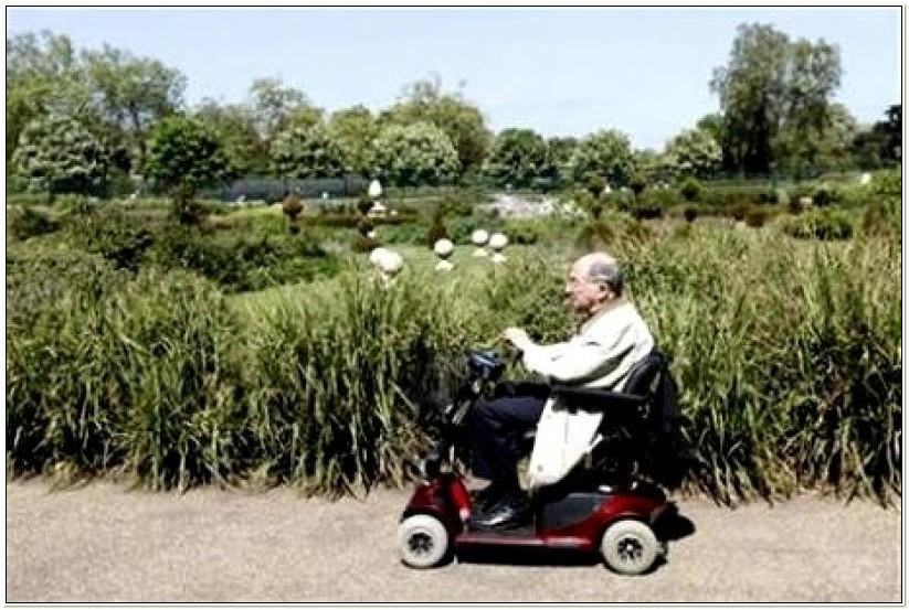 Electric Wheelchair For Elderly