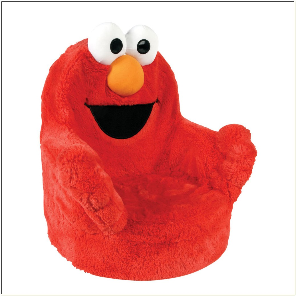 Elmo Giggle And Shake Chair By Marshmallow