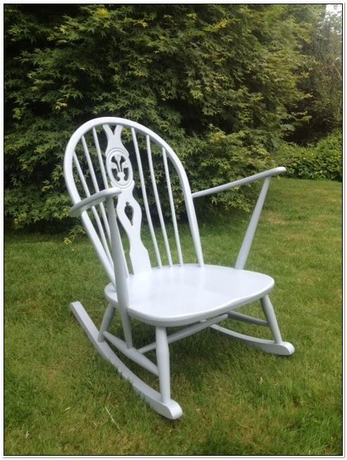 Ercol Fleur De Lys Rocking Chair