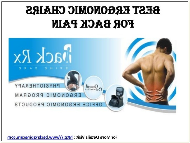 Ergonomic Chair For Back Pain India