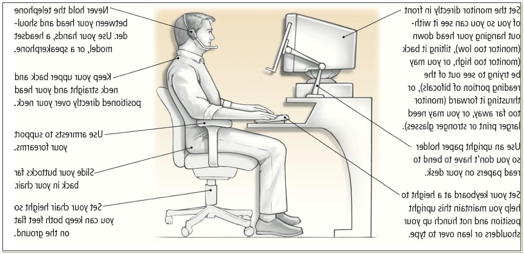 Ergonomic Chair For Neck And Back Pain