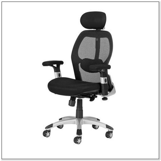 Ergonomic Mesh Office Chair With Headrest