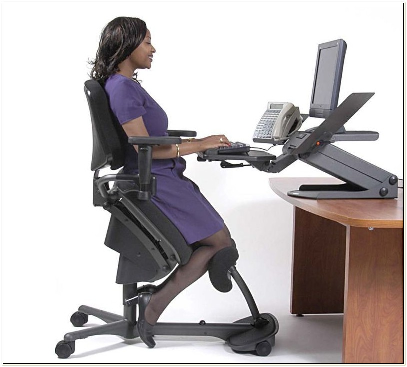 Ergonomic Office Kneeling Chair For Computer Comfort
