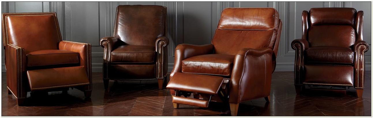 Ethan Allen Club Chair Recliner